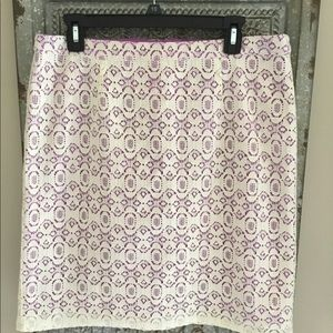 Willi Smith Lace Skirt                     NWOT